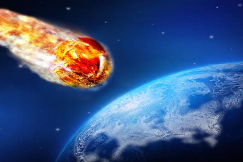 Thiên thạch khổng lồ đang lao nhanh về phía trái đất