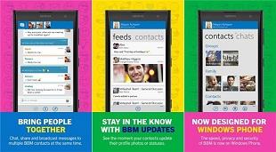 BBM ra mắt phiên bản chính thức cho Windows Phone