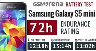Pin Galaxy S5 mini trụ được hơn 13 giờ lướt web