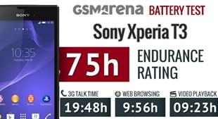 Pin Xperia T3 dùng được bao lâu?