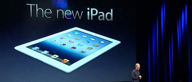 iPad mới: Retina Display, 4G, chip A5X, giá và hình thức không đổi