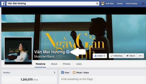 Làm thế nào để đóng dấu Facebook chính chủ?