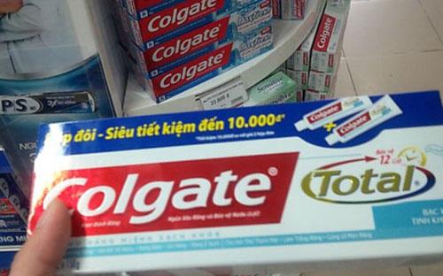 Bộ Y tế: chất Triclosan trong kem đánh răng Colgate nằm trong giới hạn