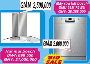 Giảm giá bếp từ, máy rửa bát Fagor đến 4 triệu đồng từ ngày 8-15/3/2012