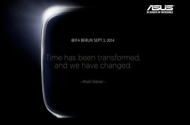 Asus sẽ ra mắt smartwatch giá mềm vào ngày 3/9 tới?