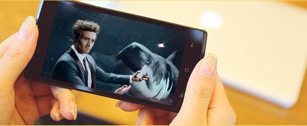 Oppo Neo 5: Màn hình 4.5 inch, SoC Snapdragon 400, có kết nối LTE