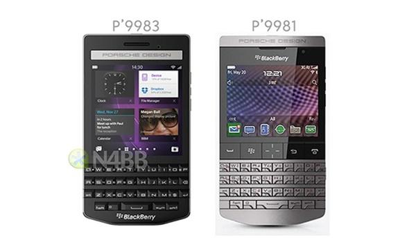 BlackBerry Porsche Design P'9983 bàn phím QWERTY ra mắt cuối quý III