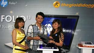 Ultrabook HP Folio 13 ra mắt người dùng Việt