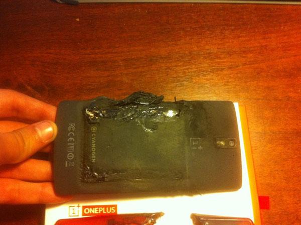 Điện thoại OnePlus One phát nổ