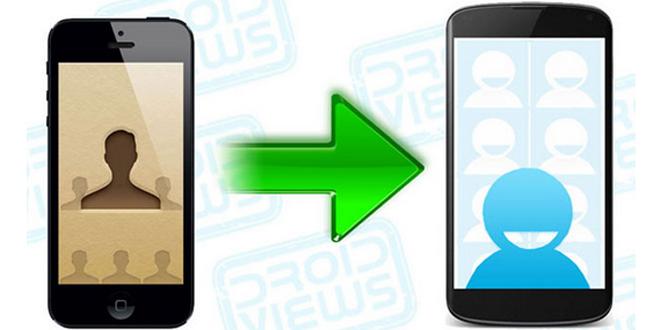 Hướng dẫn chuyển dữ liệu từ máy Android sang iPhone