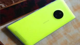 Camera sau của Lumia 830 có cảm biến chỉ 10MP