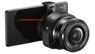 Lộ diện Sony QX1, ống kính rời cho camera smartphone