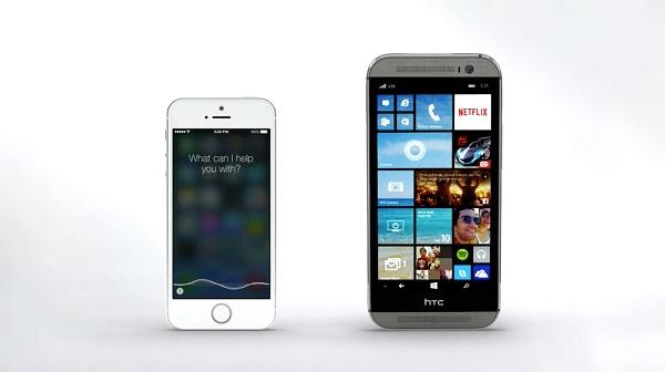 One M8 Windows tiếp sức cho Cortana đối đầu với Siri