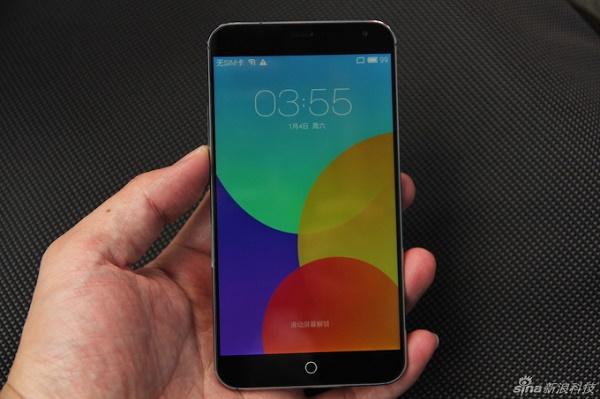 Meizu ra mắt MX4: smartphone 8 lõi giá rẻ, camera 21MP