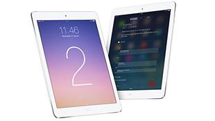 iPad Air 2 dùng Ram 2GB, có máy quét vân tay