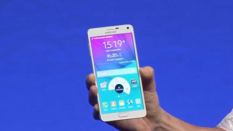 Truyền hình trực tiếp sự kiện ra mắt Samsung Galaxy Note 4
