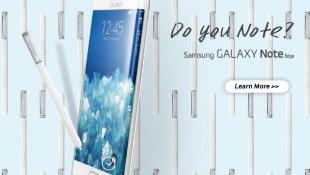 Lộ ảnh báo chí Galaxy Note 4 và Note Edge trước giờ G