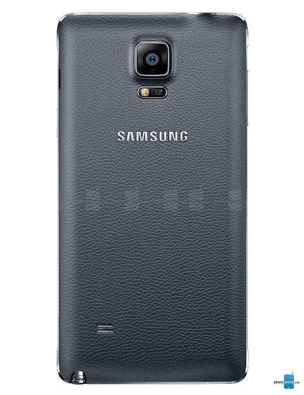 """Chiếc phablet mới nhất của Samsung đã ra mắt với cấu hình xứng đáng ngôi vị số 1 của phân khúc smartphone lai máy tính bảng. Trong khuôn khổ sự kiện Unpacked diễn ra bên thềm hội chợ IFA (Berlin, Đức), Samsung đã chính thức ra mắt chiếc phablet đình đám Galaxy Note 4. Theo đúng dự đoán từ trước, màn hình của máy vẫn được giữ nguyên độ lớn so với thế hệ cũ: 5,7 inch, nhưng độ phân giải thì đã được tăng lên mức 2560 x 1440 pixel. Với mật độ điểm ảnh/inch lên tới 515PPI, Note 4 đánh dấu lần đầu tiên Samsung đưa một sản phẩm chủ lực lên mức sắc nét vượt quá… khả năng nhận biết của mắt người, chậm hơn LG (G3) tới nửa năm. Galaxy Note 4 sở hữu vi xử lý 64bit lõi tứ Snapdragon 805 xung nhịp ____, 3GB RAM, các tùy chọn bộ nhớ trong 16/32/64GB có hỗ trợ thẻ nhớ. Camera chính của máy có độ phân giải 16MP có hỗ trợ công nghệ ổn định hình ảnh quang học giúp chống rung, mờ và tăng chất lượng hình ảnh. Camera phụ có độ phân giải 3,7MP và khẩu độ rộng f1.9 để chụp ảnh """"tự sướng"""" tốt nhất có thể. Tại các quốc gia ngoài Bắc Mỹ và châu Âu, Note 4 vẫn sẽ được trang bị vi xử lý lõi 8 do Samsung tự phát triển: Exynos 5433 với 4 nhân Cortex-A53 1,3GHz và 4 nhân Cortex A-57 tốc độ 1,9GHz cho các tác vụ nặng ký. Note 4 vẫn tiếp tục sử dụng lại chất liệu giả da từ Note 3, song lần này Samsung đã khéo léo thay đổi thiết kế để tạo ra một sản phẩm hài hòa hơn. Viền của Note 4 được làm từ chất liệu kim loại giúp tăng vẻ sang trọng. Kích cỡ của Note 4 được giữ ở mức khá dễ chịu: 176 gram, độ dày 8,5 mm. Sản phẩm sẽ có 4 màu: đen, trắng, vàng (gold) và hồng. Các tính năng đặc biệt của Note 4 bao gồm cảm biến nhịp tim và cảm biến vân tay giống như Galaxy S5. Camera trước có thể chụp ảnh """"Wild Selfie"""" – một dạng ghép ảnh tự sướng giống như panorama. Về mặt phần mềm, Galaxy Note 4 được cài đặt Android 4.4.4 cùng giao diện Note UI quen thuộc của Samsung. Phablet của Samsung đã được trang bị thêm tính năng đa nhiệm nhiều cửa sổ mới để bạn có thể vừa chat Hangout, vừa lướt Facebook. Các tính năng cần t"""