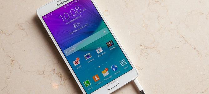 Galaxy Note 4 ra mắt: màn hình 2K 5.7 inch, Snapdragon 805, Ram 3GB, camera 16 MP
