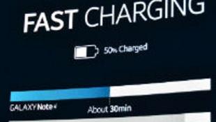 Galaxy Note 4 có thể sạc 50% pin trong 30 phút