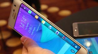 Cận cảnh Samsung Galaxy Edge