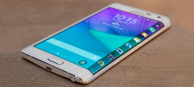 Galaxy Note Edge: phiên bản Galaxy Note 4 màn hình cong
