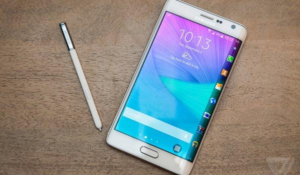 Trên tay Galaxy Note Edge