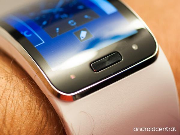 trên tay Samsung gear s