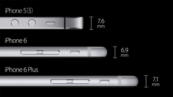 Những hình ảnh chính thức của iPhone 6 và iPhone 6 Plus