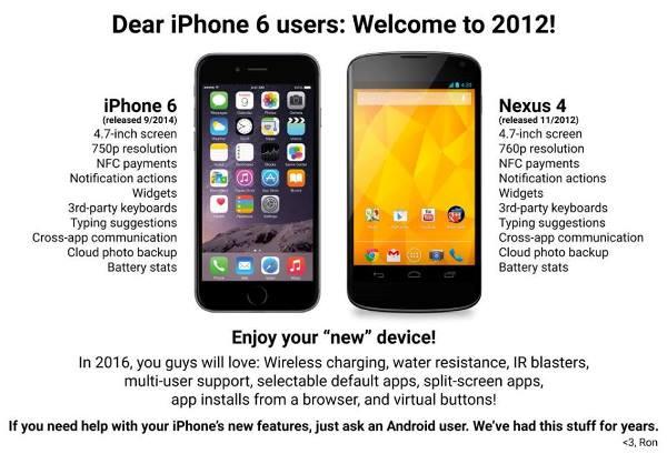 Không nằm ngoài dự đoán, các fan của Android, Nokia-Microsoft hay BlackBerry đều đã lên tiếng mỉa mai Apple vì bước chân quá chậm vào thị trường smartphone cỡ lớn. Ấy vậy mà doanh số của 2 chiếc iPhone 6 và iPhone 6 Plus chắc chắn sẽ rất khổng lồ.