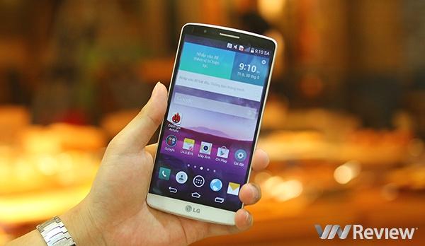 LG G3 tại Việt Nam giảm giá lần thứ 2 trong tuần qua