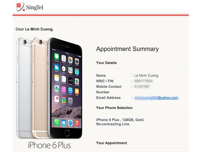 Người Việt ở Singapore rủ nhau bán suất mua iPhone 6