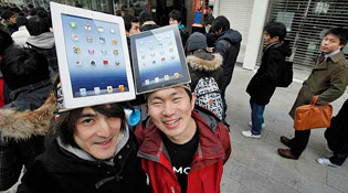 3 triệu iPad bán ra trong 3 ngày đầu tiên