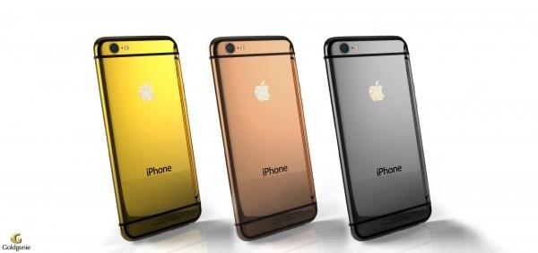 Goldgenie công bố ba phiên bản iPhone 6 mạ vàng 24-karat