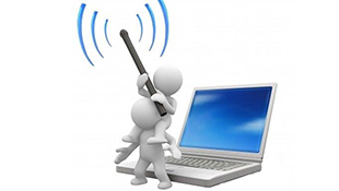 Laptop Asus bắt được WiFi nhưng không vào được mạng