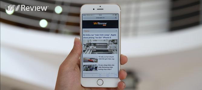 VnReview tặng bạn đọc điện thoại iPhone 6