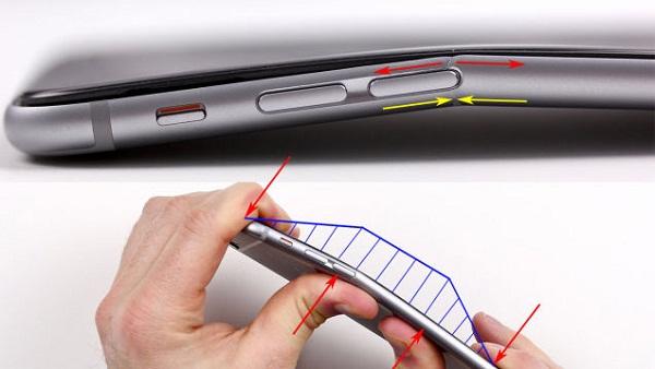 Lời giải thích thỏa đáng cho lỗi bị cong của iPhone 6