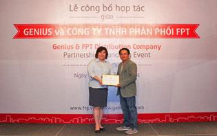 FPT phân phối phụ kiện di động Genius tại Việt Nam