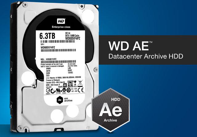 WD giới thiệu ổ WD Ae tích hợp công nghệ Cold Data