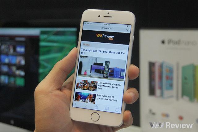 Bộ đôi iPhone 6 khiến an ninh Mỹ bất an