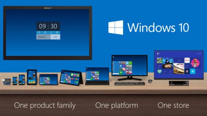 Phiên bản Windows Phone tiếp theo sẽ có tên là Windows 10