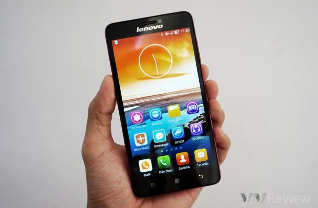 """Trên tay smartphone """"tự sướng"""" Lenovo S850"""
