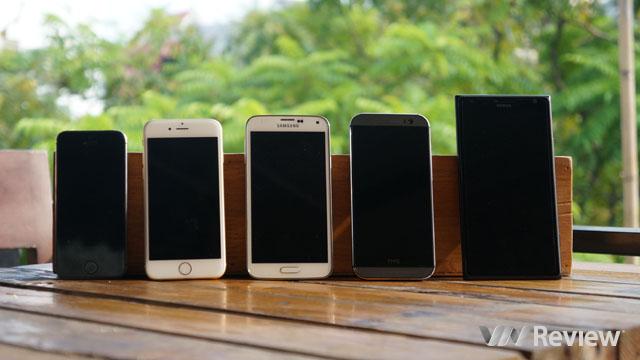 So sánh ảnh chụp của iPhone 6