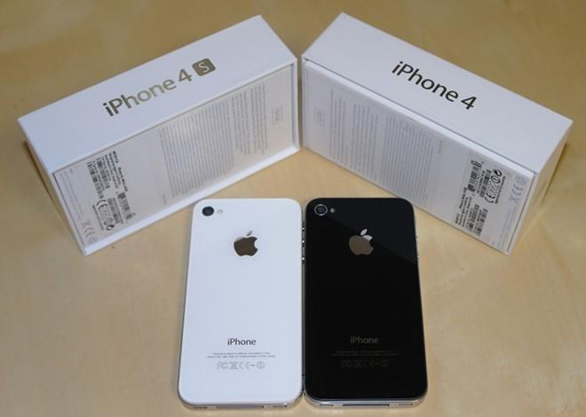 Giá iPhone 4, 4S chính hãng đồng loạt giảm nhẹ