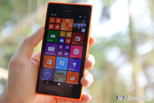 Đánh giá chi tiết Lumia 730