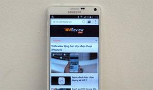 Samsung Galaxy Note 4 có giá linh kiện là 260 USD