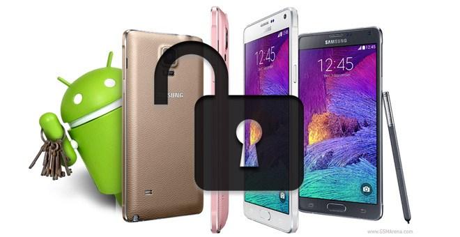 Một số phiên bản Samsung Galaxy Note 4 đã bị root
