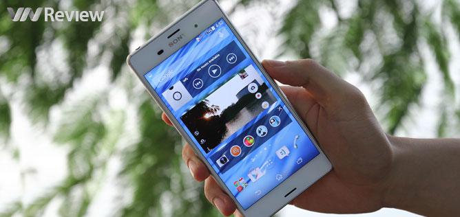 Trên tay Sony Xperia Z3 chính hãng