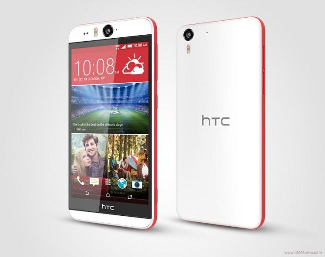 HTC chính thức giới thiệu Desire Eye với camera tự sướng 13 megapixel