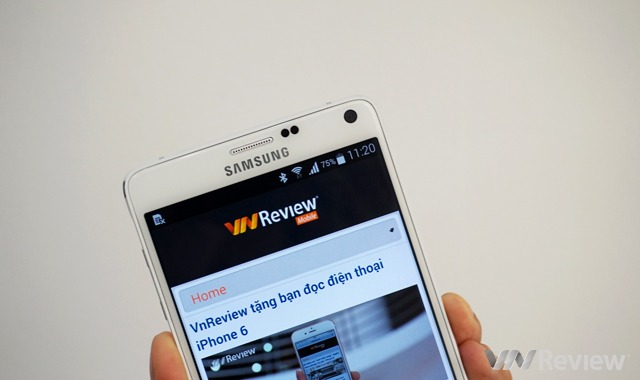 Galaxy Note 4 chính hãng giá 17,99 triệu đồng